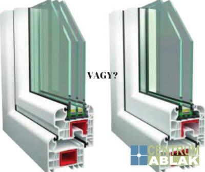 2 vagy 3 rétegű ablak