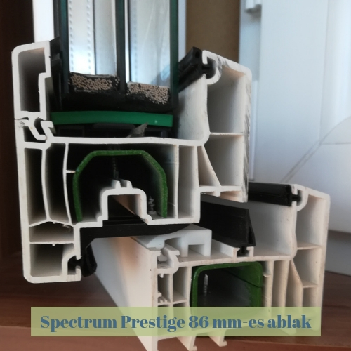 műanyag ablak spectrum profilből